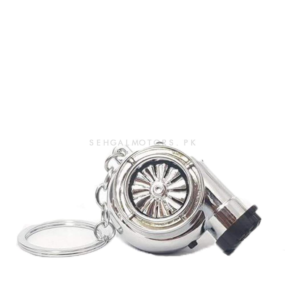 Turbo Style Key Chain / Key Ring With Lighter-SehgalMotors.Pk