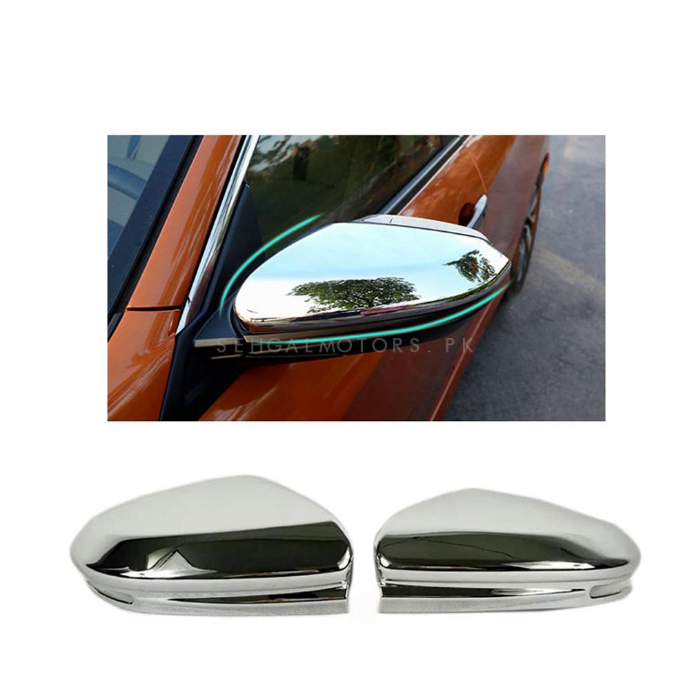 Honda Civic Side Mirror Chrome Cover - Model 2016-2019-SehgalMotors.Pk