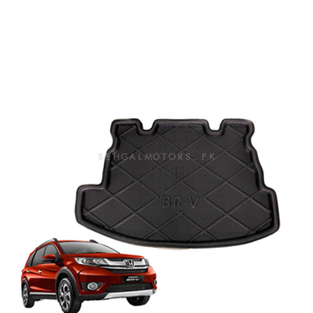 Honda BRV Foam Trunk Mat - Model 2017-2019 | Trunk Boot Liner | Cargo Mat Floor Tray | Trunk Protection Mat | Trunk Tray Cover Pad-SehgalMotors.Pk