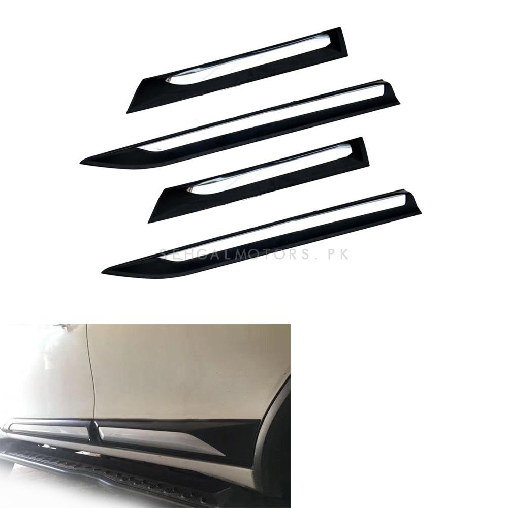 Toyota Fortuner Side Chrome Moulding - Model 2016-2019-SehgalMotors.Pk