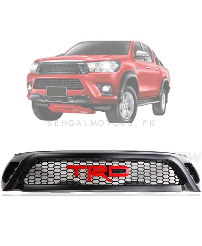 Buy Toyota Hilux Revo Trd Grille Model 2016 2019 In Pakistan
