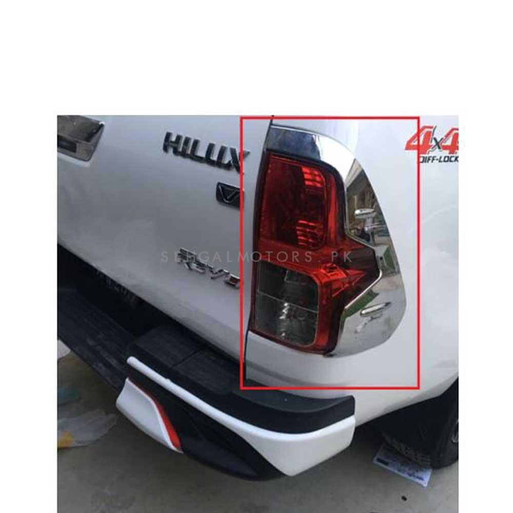 Toyota Hilux Revo Back lights Cover Style B- Model 2016-2021-SehgalMotors.Pk