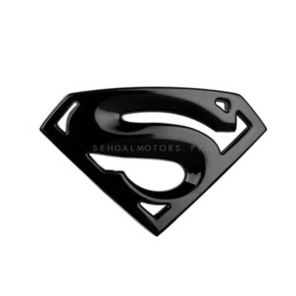 Superman Logo Special - Black-SehgalMotors.Pk