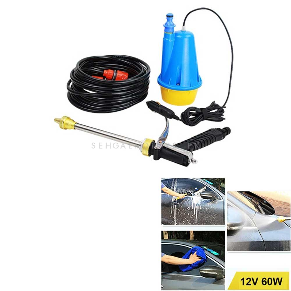 Car Portable On Board Car Washing Machine Pressure Washer 12V Detailing Washer-SehgalMotors.Pk