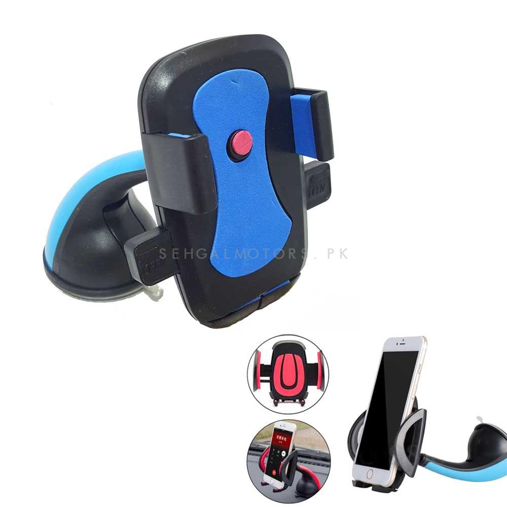 Mouth Mobile Holder Blue-SehgalMotors.Pk