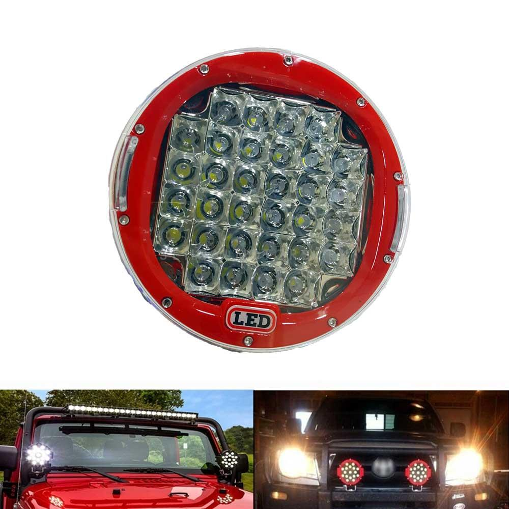 Jeep Red Fog Lamps Large - Pair-SehgalMotors.Pk