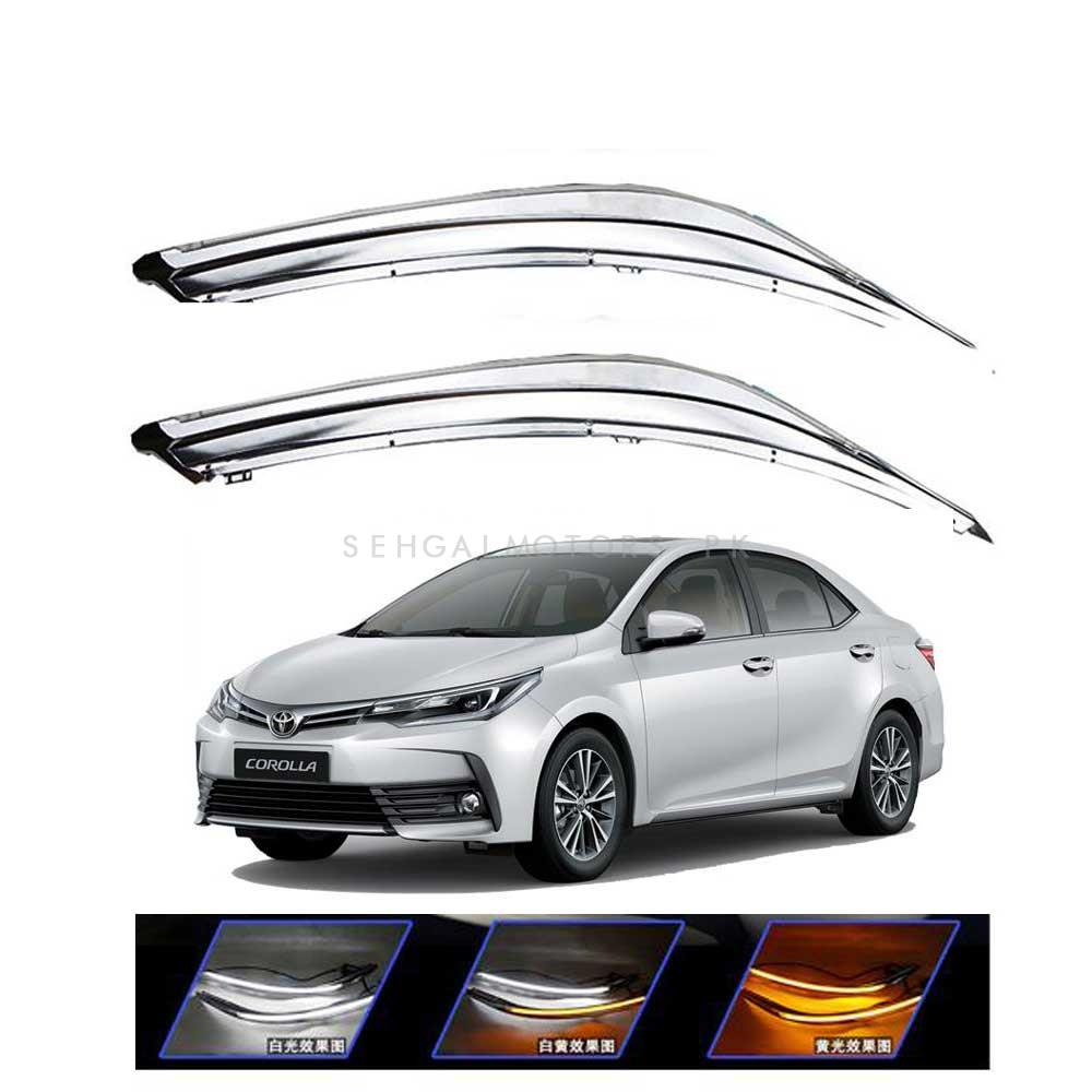 Toyota Corolla Face Lift Eyebrow DRL Dual - Model 2017-2019-SehgalMotors.Pk
