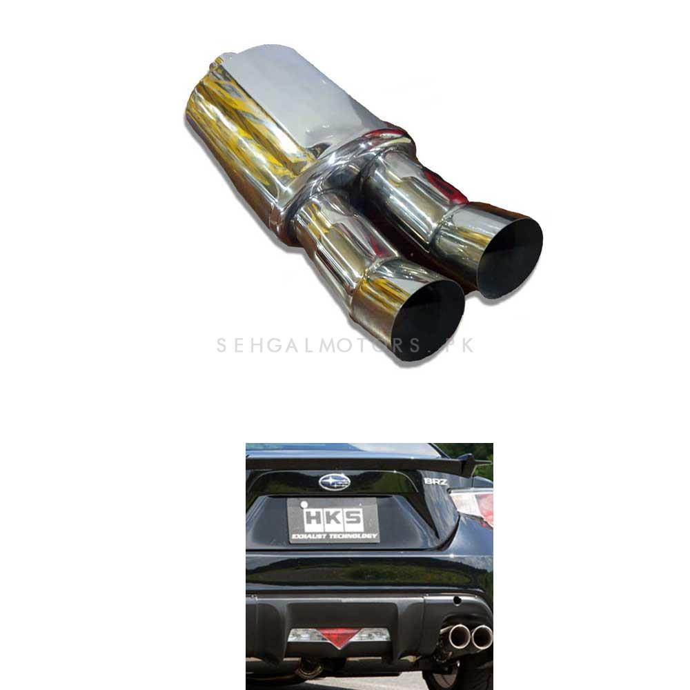 Buy Hks Remus Style Double Pipe Exhaust Jasma Approved