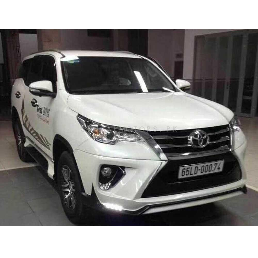Buy Toyota Fortuner Ativus Body Kit Bodykit 4 Pcs