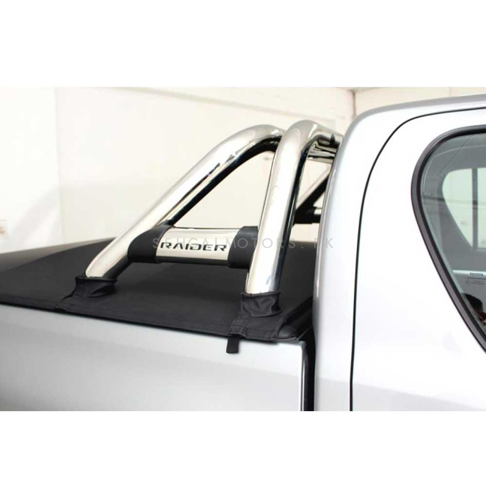 Toyota Hilux Stainless Steel Double Roll Sports Bar - Model 2016-2019-SehgalMotors.Pk