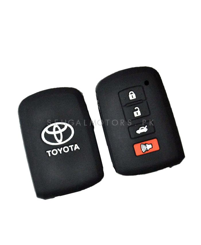 Toyota Corolla Face Lift PVC / Silicone Protection Key Cover - Model 2017-2019-SehgalMotors.Pk