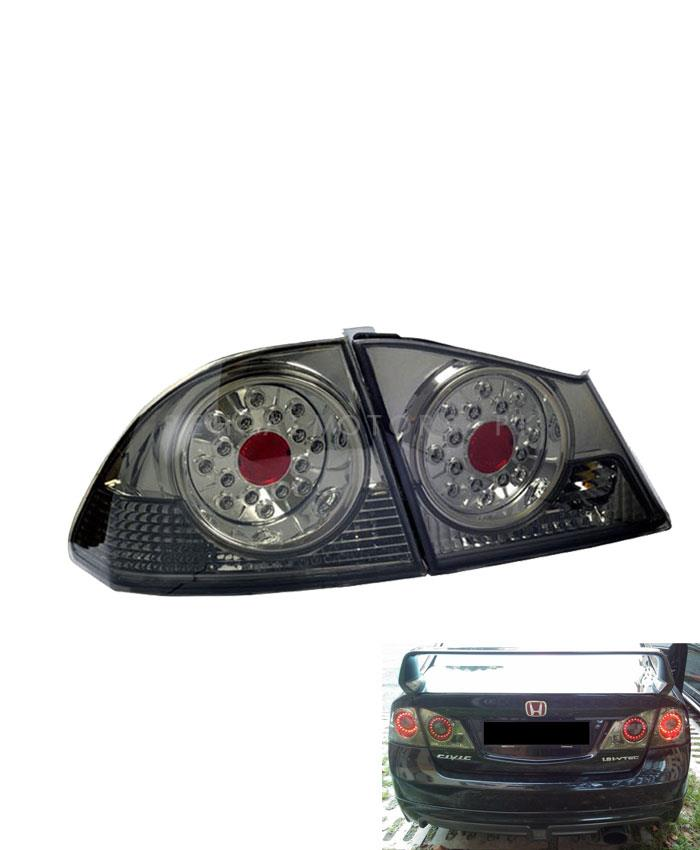 Honda Civic Back lights Full Smoke - Model 2006-2012-SehgalMotors.Pk