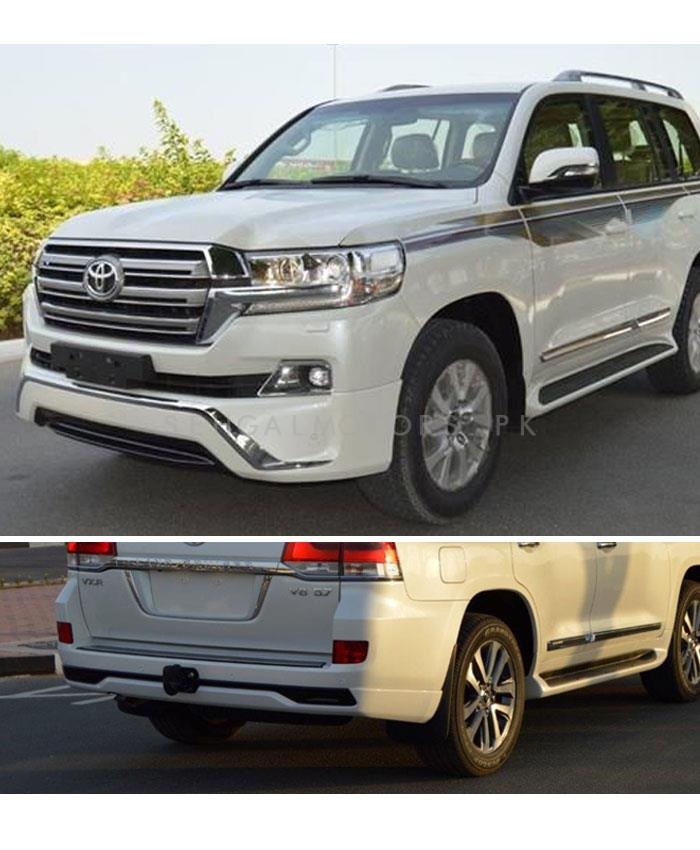 Toyota Land Cruiser Body Kit / Bodykit Front and Back Extender Taiwan - Model 2015-2019-SehgalMotors.Pk