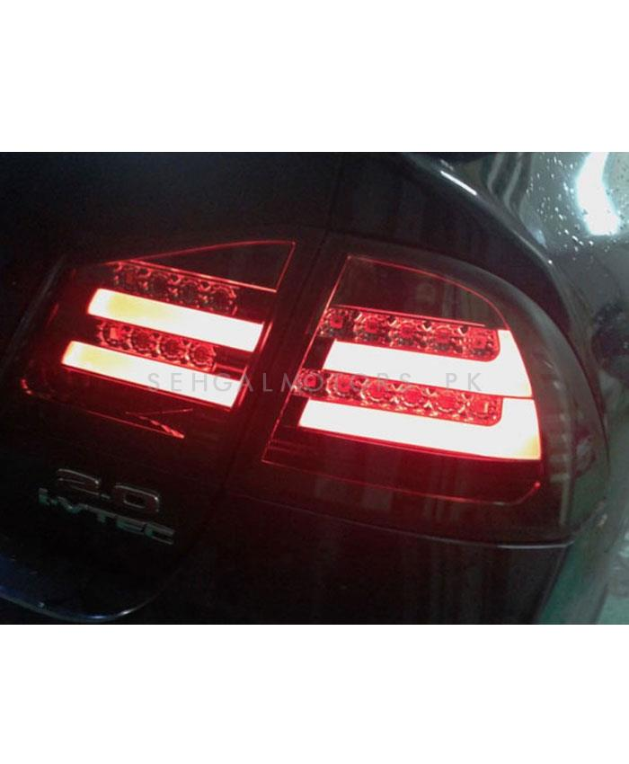 Honda Civic Back lights Full Red Taiwan - Model 2006-2012-SehgalMotors.Pk