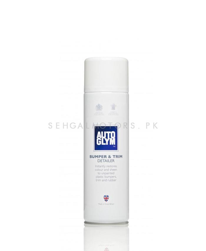 Autoglym Bumper And Trim Detailer 450 ML | Enhance And Restores Colour | Car Polish Spray Sealant | Faded Exterior Plastic And Rubber-SehgalMotors.Pk