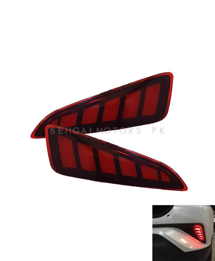 Toyota CHR Brake Bumper Tail Lights - Model 2017-2019	-SehgalMotors.Pk