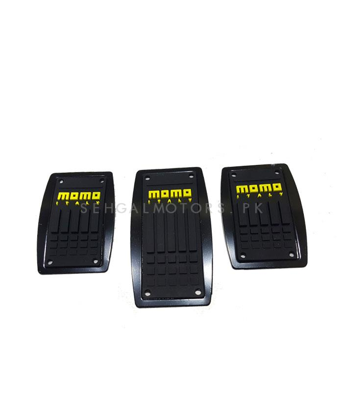 Momo Universal Manual Transmission Car Pedal Covers-SehgalMotors.Pk
