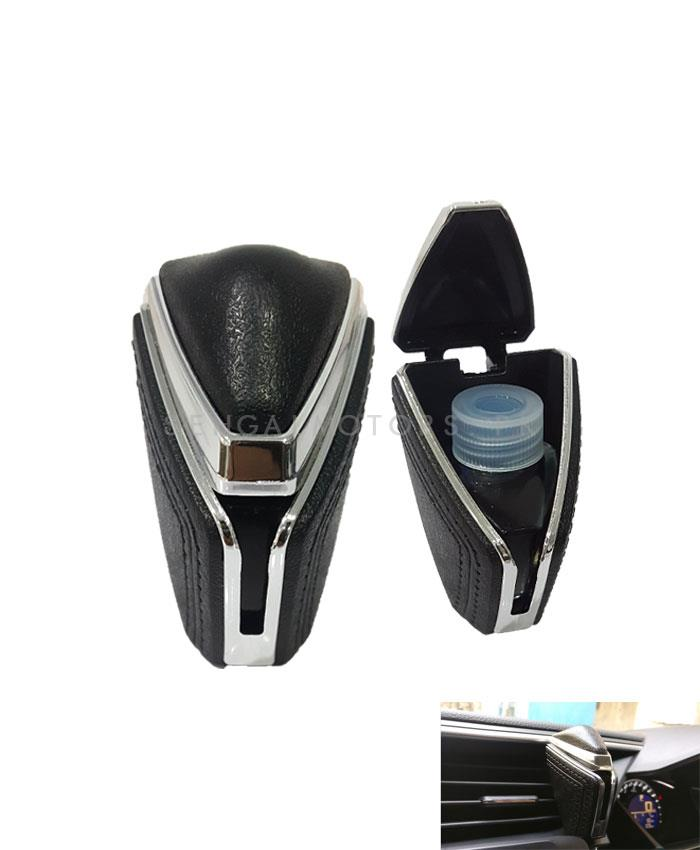 Leather Style AC Grille Car Perfume Fragrance - Mix Color-SehgalMotors.Pk