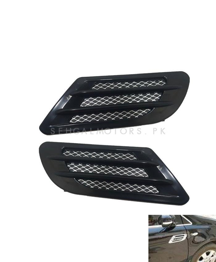 Car Universal Side Air Flow Fender Vents-SehgalMotors.Pk