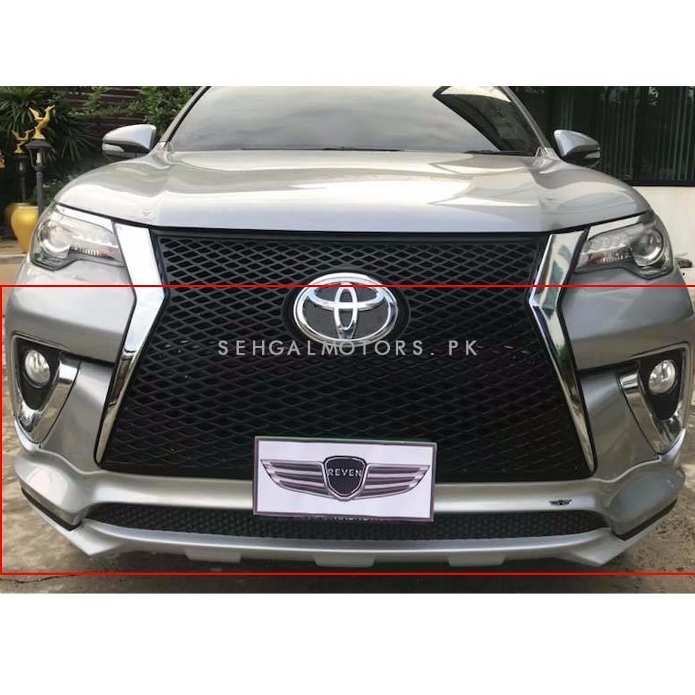 Which Is Better Led Or Hid Headlights >> Buy Toyota Fortuner Body Kit Lexus Style 2 Pcs Black - Model 2016-2017 in Pakistan