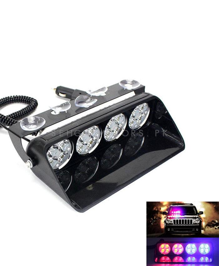 High Power 4 LED Red  Light for Dashboard-SehgalMotors.Pk