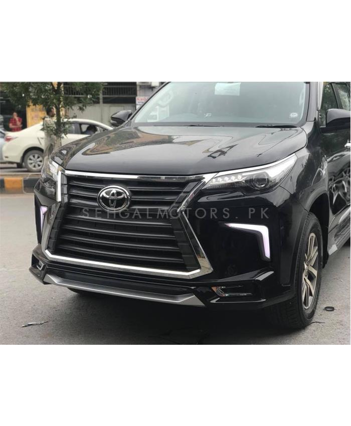 Buy Toyota Fortuner Nks Body Kit Version 2 Black Model