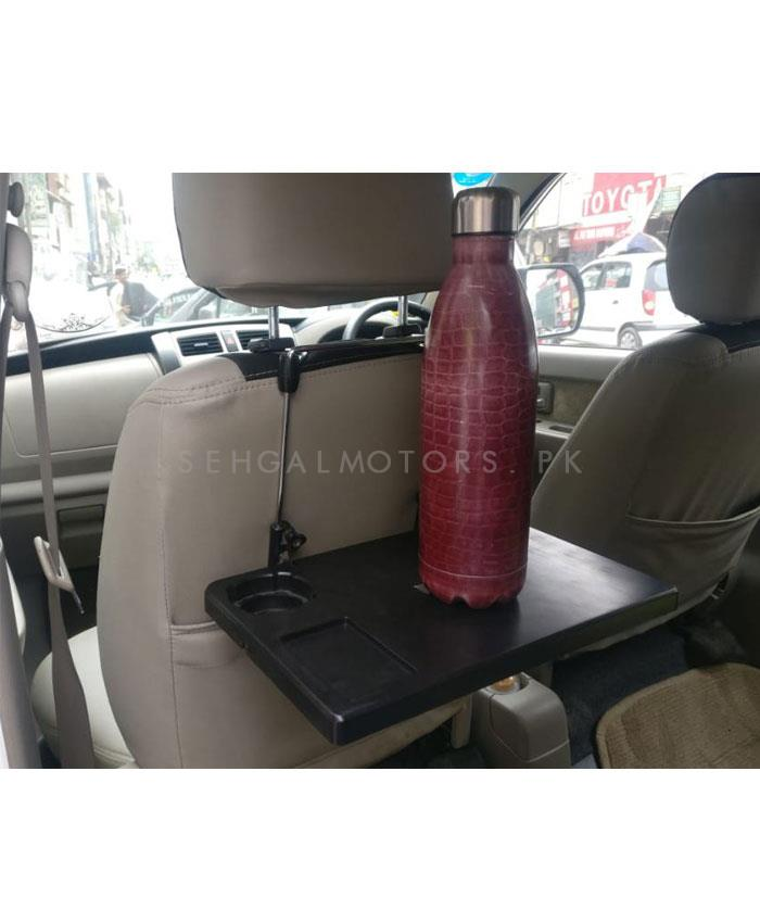 Back Seat Dining and Laptop Tray Holder Table | Car laptop Computer Notebook Stand Holder Portable Car Back Seat Tray Multifunctional Dining Table-SehgalMotors.Pk