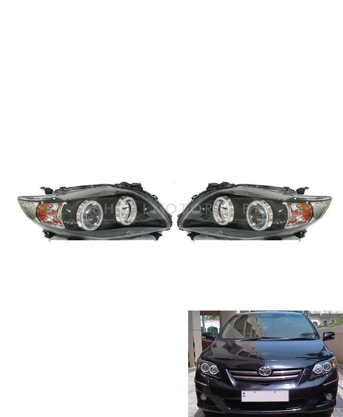 Toyota Corolla V4 Headlight / Head Lamp - Model 2008-2012-SehgalMotors.Pk