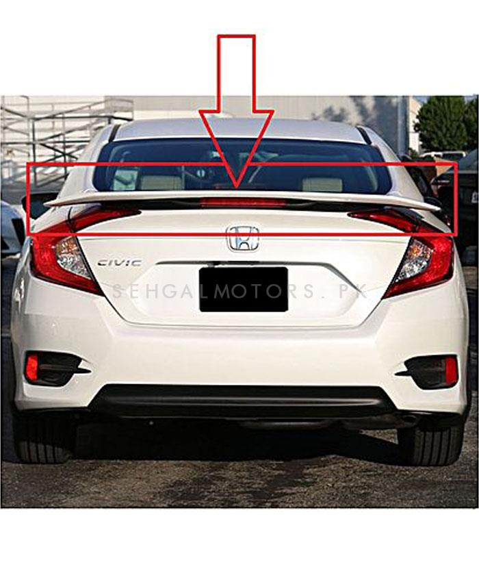 Buy Honda Civic SI Spoiler American Style With Reflector