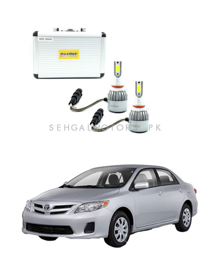 Toyta Corolla Maximus LED HID Extreme Vision | Super Bright Vision Night Breaker - Model 2012-2014-SehgalMotors.Pk