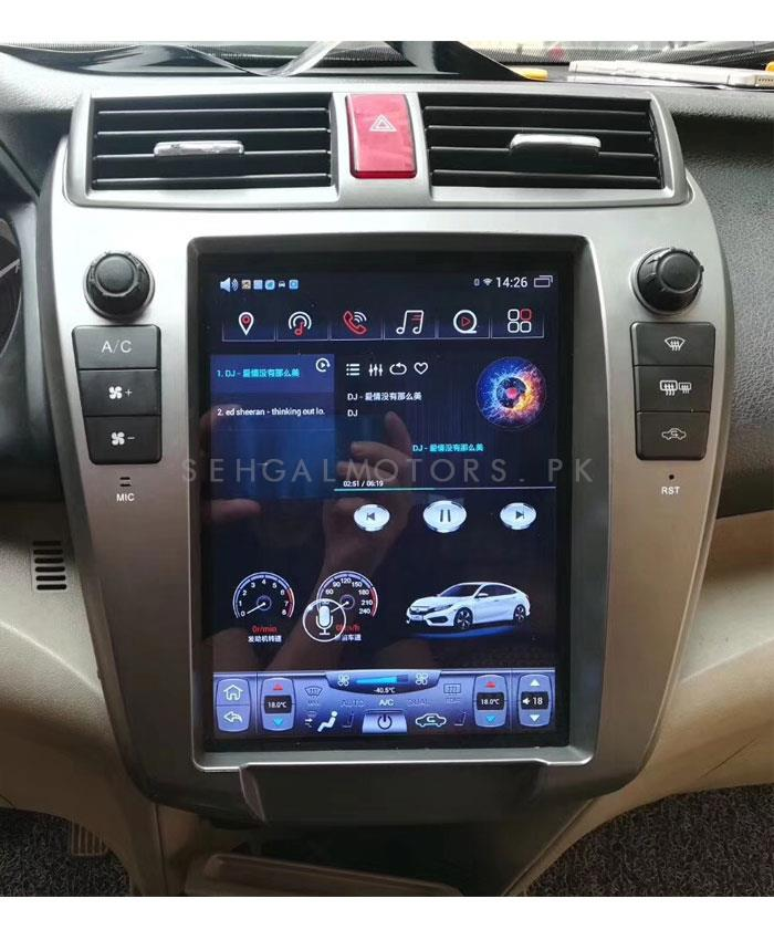 Honda Civic Key Replacement >> Buy Honda City Tesla Style IPS Display Lcd Multimedia System Android - Model 2008-2019 in Pakistan