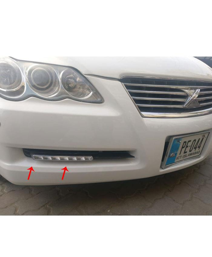 Toyota Mark X Fog lamp DRL with OEM Fitting-SehgalMotors.Pk