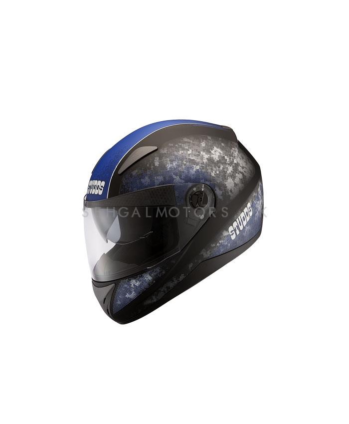 Studds D2 Decor Strips Helmet Blue-SehgalMotors.Pk