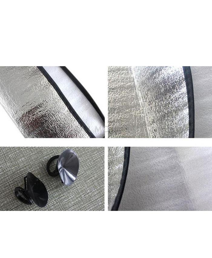 Car Front Screen Foil Sunshade / Sun Shade Universal | UV Protection | Sunlight Rejection-SehgalMotors.Pk