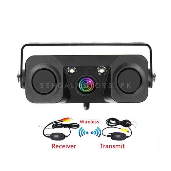Maximus Reverse Camera With Double Parking Sensor and Warning Buzzer -SehgalMotors.Pk