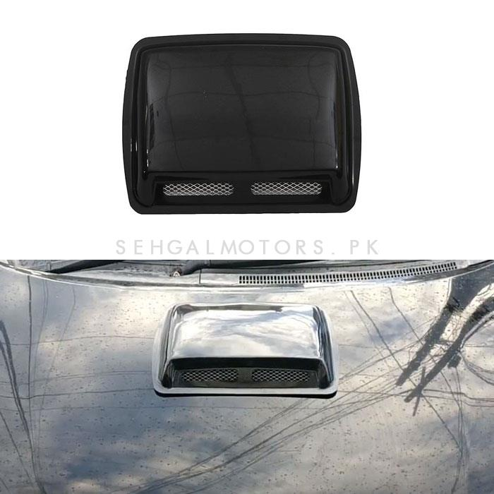 Air Flow for Hood Large 5034 | Automotive Universal Body Hood Decorative Air Vent | Car Air Inlet Cover-SehgalMotors.Pk