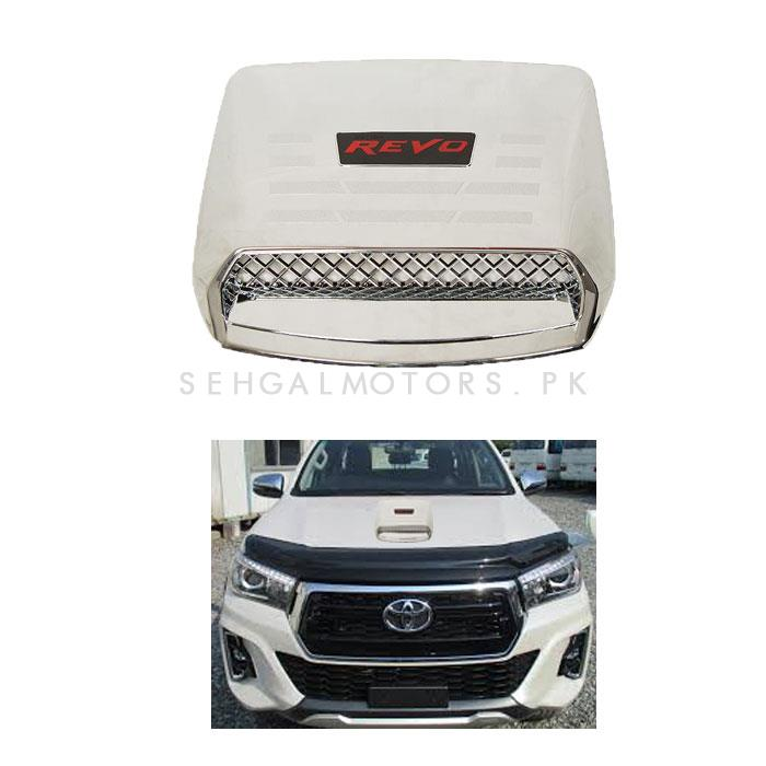 Toyota Hilux Revo Bonnet Scoop Chrome China - 2016-2019-SehgalMotors.Pk