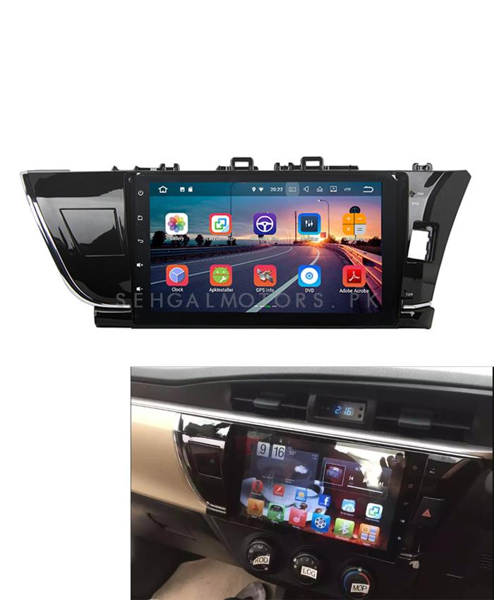Toyota Corolla LCD Android IPS Display Panel - Model 2014-2017-SehgalMotors.Pk
