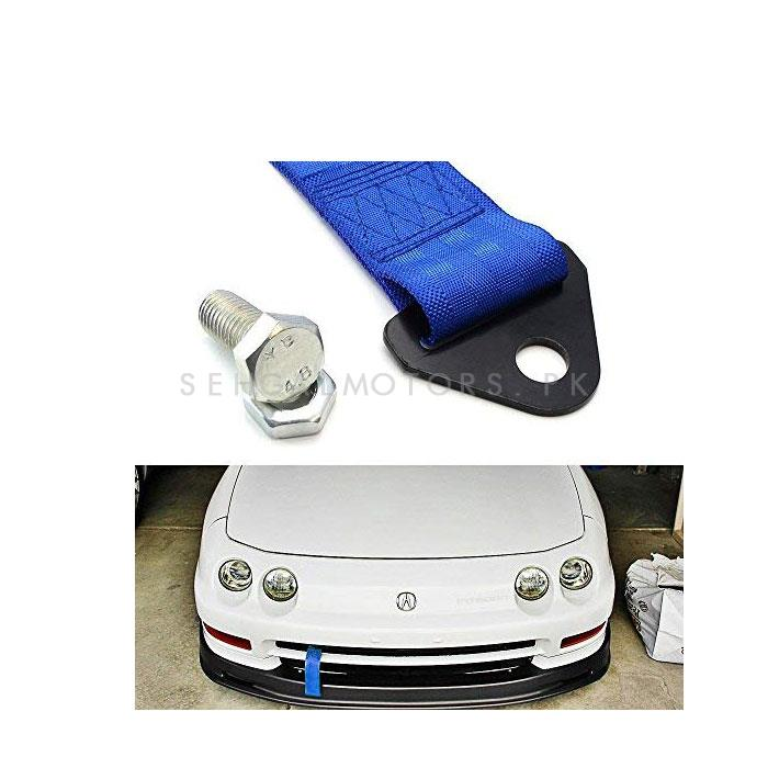 Strap Tow Hook - Blue-SehgalMotors.Pk