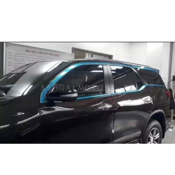 Toyota Fortuner Complete Body Chrome Trims  - Model 2016-2019-SehgalMotors.Pk