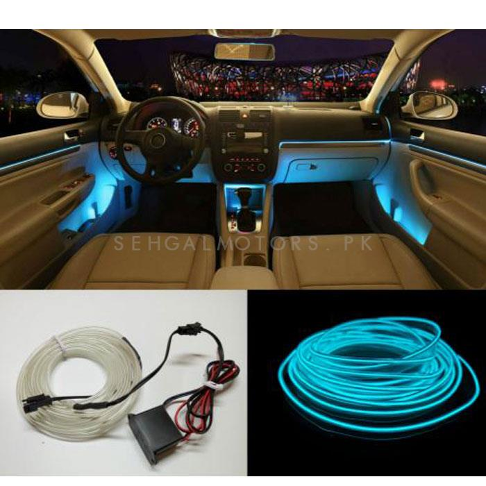 Maximus EL Glow Wire for Interior  / Dashboard LED Light  2Meters (6ft) - Ice Blue-SehgalMotors.Pk