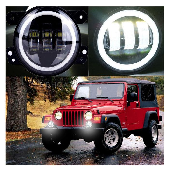 Jeep Fog Lamps Style B Small-SehgalMotors.Pk