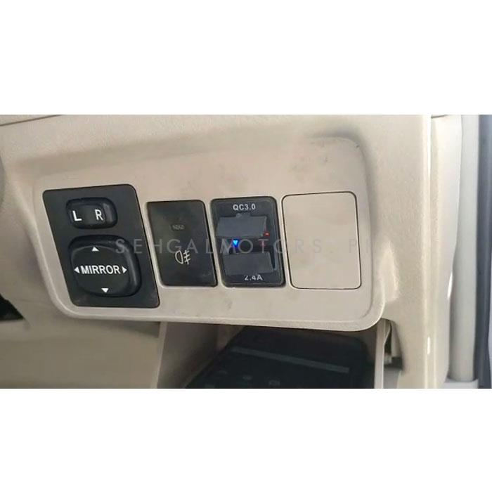 Honda In-Dash Dual USB Socket OEM Quality For Mobile Fast Charge	-SehgalMotors.Pk