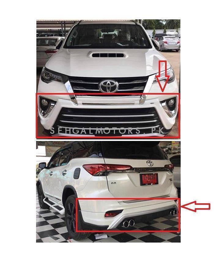 Buy Toyota Fortuner Zigma Style Body Kit Thailand 2 Pieces