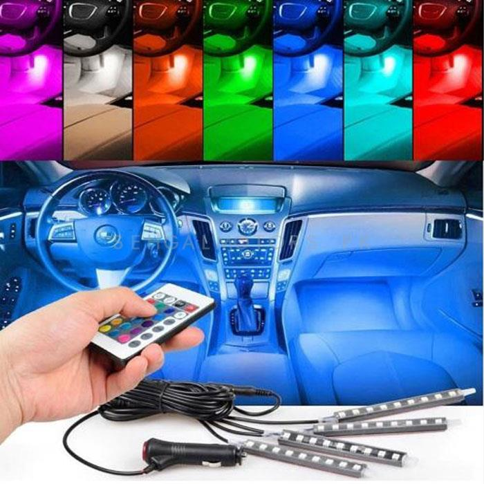 Atmosphere Light For Interior - 7 Color-SehgalMotors.Pk