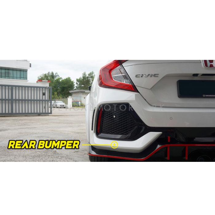 Honda Civic Type R Body Kit / Bodykit - Model 2016-2020-SehgalMotors.Pk