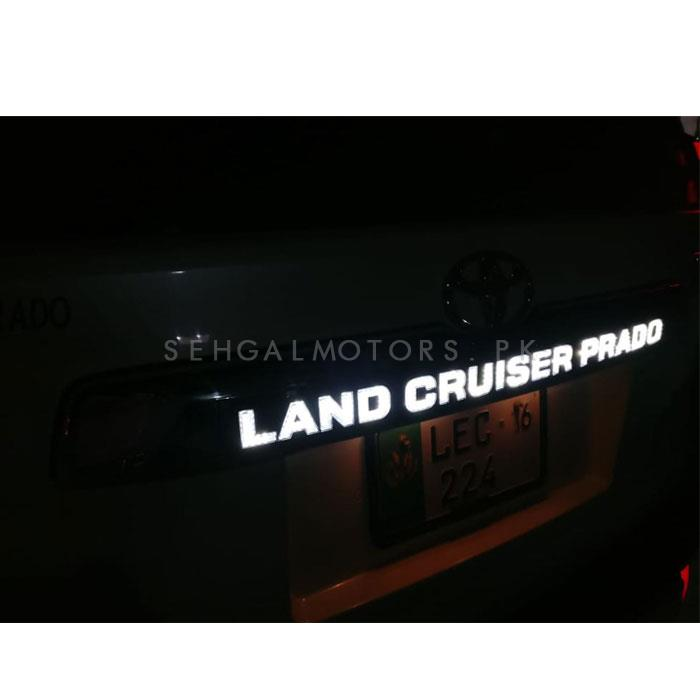 Toyota Land Cruiser Prado Rear LED Trunk Lid Cover Garnish-SehgalMotors.Pk