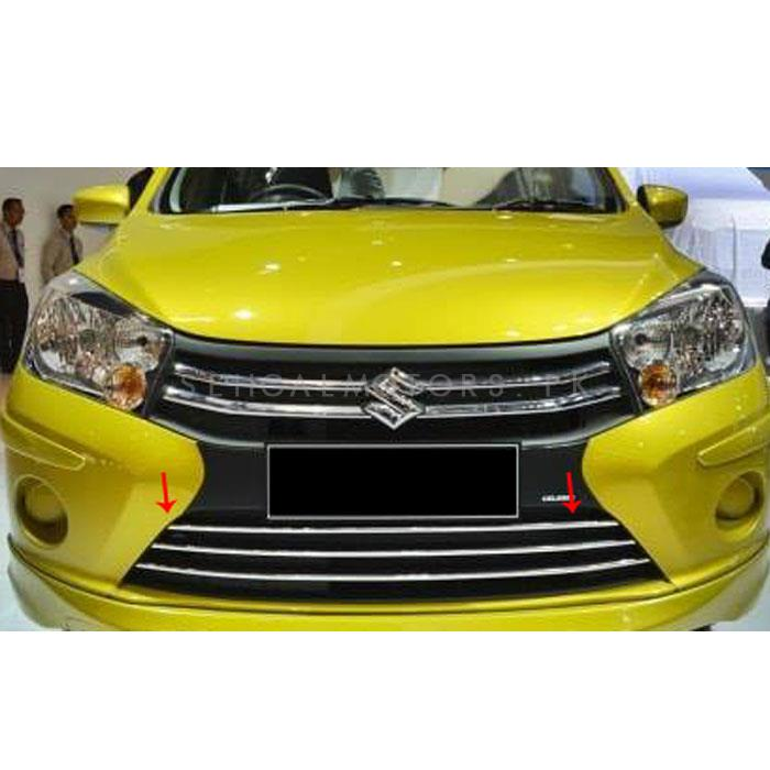 Suzuki Cultus Front Lower Chrome Grill - Model 2017-2019-SehgalMotors.Pk