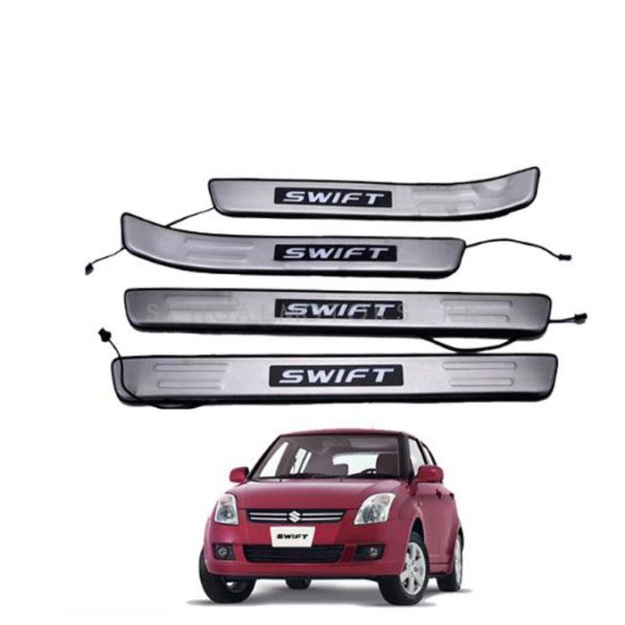 Suzuki Swift Sill Plates / Skuff LED panels - Model 2010-2020-SehgalMotors.Pk