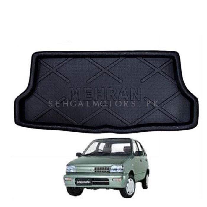 Suzuki Mehran Trunk Mat - Model 2012-2019 | Trunk Boot Liner | Cargo Mat Floor Tray | Trunk Protection Mat | Trunk Tray Cover Pad-SehgalMotors.Pk